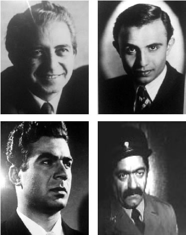 Iranian actors of the old times